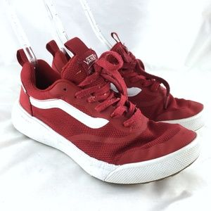Sneakers skate shoes red UltraRange lace up mesh